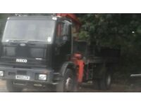 18 ton tipper grab lorry export welcome