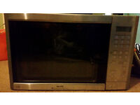 Stainless steel sanyo combination microwave oven