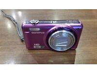 Olympus VR-310 Digital Camera - Purple (14MP, 10x Super Wide Optical Zoom) 3 inch LCD