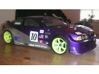 Tamiya TT01-e with loads of extras