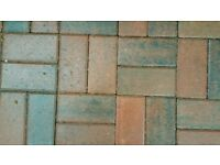 488 concrete paving blocks- Marshalls Brindle 200mm x 100mm x 50mm