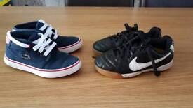 Boys designer shoes, size 10