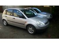 Low mileage Ford fiests 1.25
