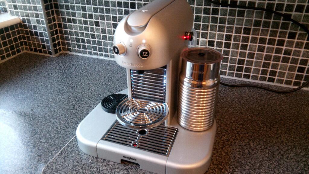 Nespresso Gran Maestria Magimix Coffee Machine with Aeroccino ...