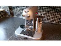 Nespresso Gran Maestria Magimix Coffee Machine with Aeroccino - Great Condition