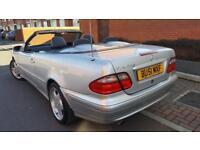 2001(51) Mercedes clk320 aventgard 218bhp Automatic