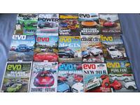 15 Car magazines EVO, Top Gear, Clasic Car 2016-2017