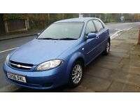 chevrolet lacetti 1.6long mot mileage just 67.000 good runner recently new brakes and services done