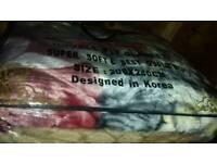 King size blanket 6 KG new