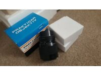 PRAKTICAR OBJEKTIV 70-210mmf/4-5.6 BAYONET NEW BOXED