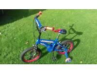"Kids 14"" Pavement Bike and Helmet Set"