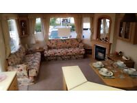 3 bed caravan on California cliffs, scratby, great yarmouth