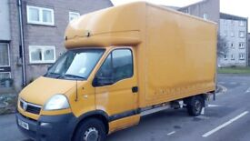 For sale Vauxhall Movano, 2006, Diesel 2.4, Luton van with Tail Lift