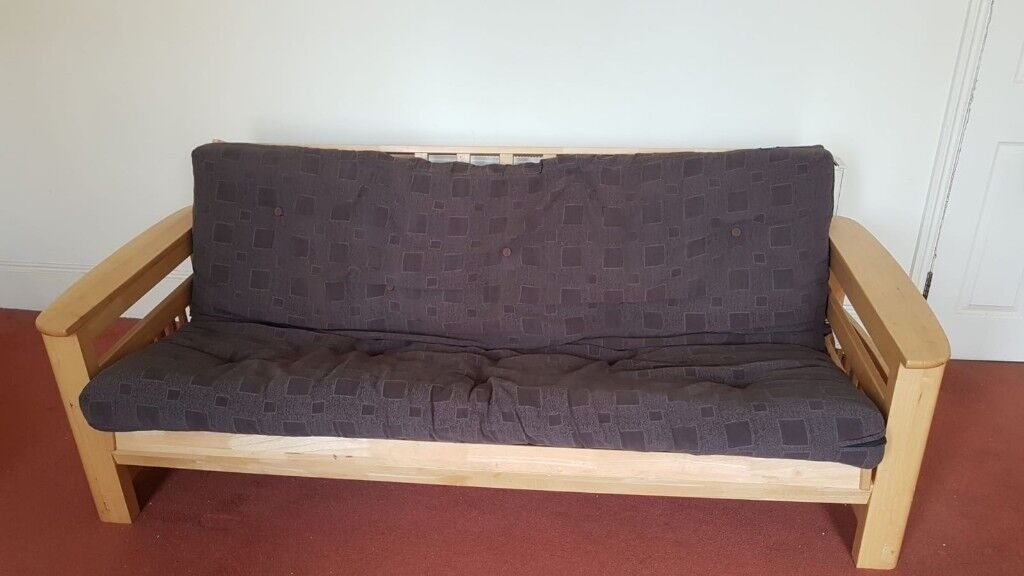 check out 46ef9 0573d Solid Wooden Futon Sofabed (Double) | in Finsbury Park, London | Gumtree
