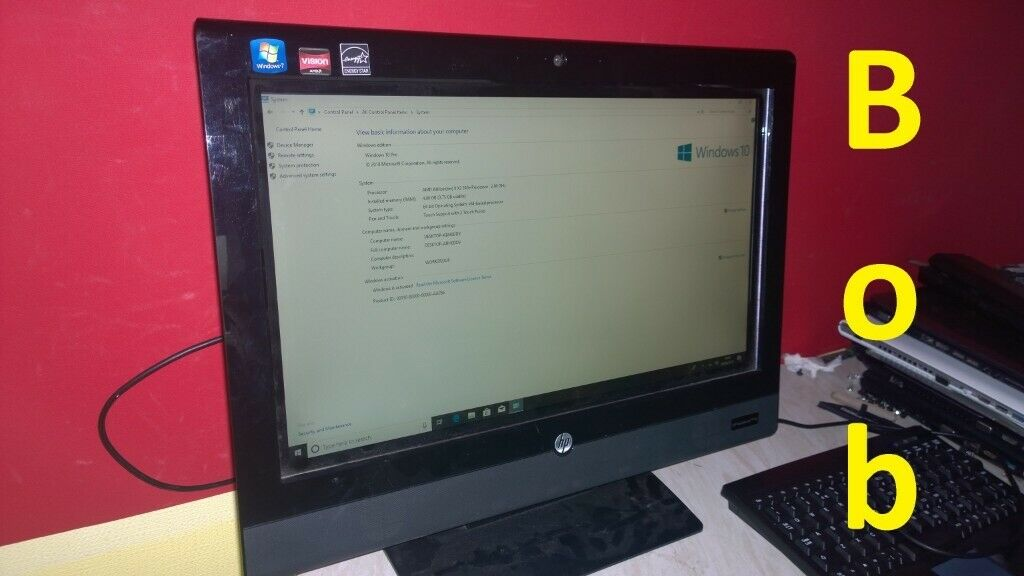 HP touchsmart 310 all in one TOUCH SCREEN PC | in Newcastle, Tyne and Wear  | Gumtree
