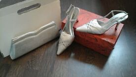Mother of the Bride Shoes and Handbag NEW CONDITION