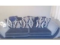 2large 3 seater sofas