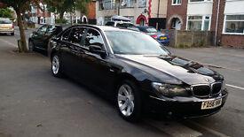 2007 BMW 730LD SE AUTO BLACK