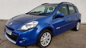 2010 RENAULT CLIO TURBO [100] DYNAMIQUE TCE ESTATE* NEW MODEL* (PART EX WELCOME)