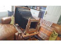 Large vintage camera