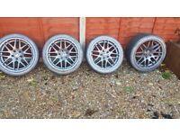 """Bmw csl wheels 18"""" reps"""