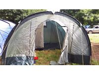 Rage Alta DX 6 Tunnel Tent Only put up once to take some pictures. Great value