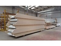 Straight Flight Pine Staircase *Fully Assembled Stairs* Ready to go