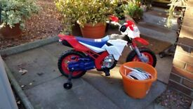 KIDS ELECTRIC MOTOR BIKE £90