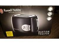 Russell Hobbs 'Buxton' Black Toaster ( new,boxed)