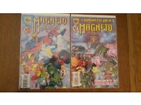 COMICS THE MAGNETIC MEN FEATURING MAGNETO AND MAGNETO AND THE MAGNETIC MEN