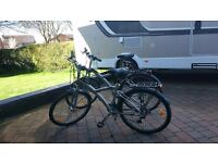 Two B Twin touring Bikes for sale
