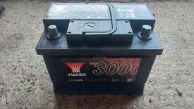 Yuasa 075 car battery. YBX3075