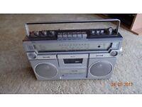 Vintage Ferguson Radio Cassette