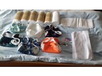 Washable nappies and liners