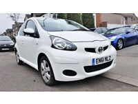 {38,000 Miles AUTO}- 2011 Toyota Aygo 1.0 - Automatic - £20 Pounds Tax -alike Citroen C1 Peugeot 107