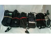 Joblot x5 very old working dell laptop chargers