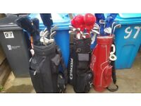 THREE sets of Golf Clubs For Sale £50 each or all THREE for £100