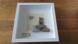 home made picture box frame - Together (9 x 9 inches)
