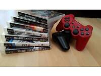 PS3 controllers and Games