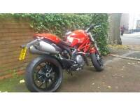 Ducati Monster 796 Red, Heated grips, Well looked after