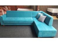 BRANDNEW CORNER BED SOFAS £499