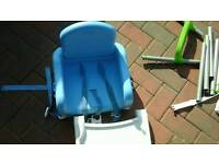 Booster and high chair