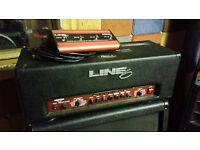 Line 6 Flextone 2 HD amp head with Footwitch
