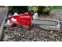 Sovereign electric chain saw/as new