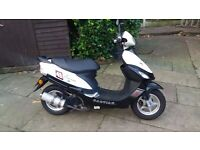 50cc scooter baotian long mot low miles superb condition cheshire