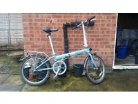 Dahon Speed D7 Folding Bicycle - good condition