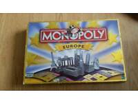 Monopoly Europe collectors item