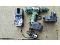 Hitachi cordless drill in used condition can deliver or post!