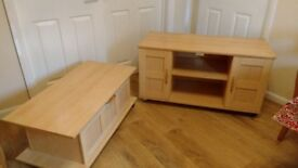 TV Unit and Matching Drawer unit
