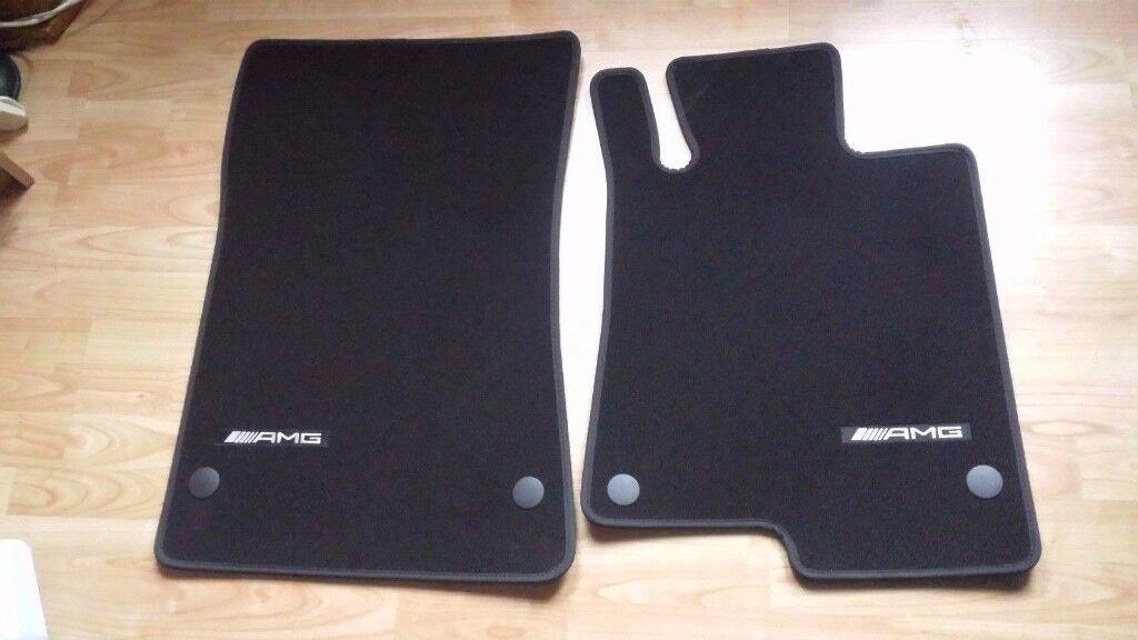2 Door Charger >> GENUINE Mercedes Benz SLK, SLC amg floor mats | in Leith, Edinburgh | Gumtree